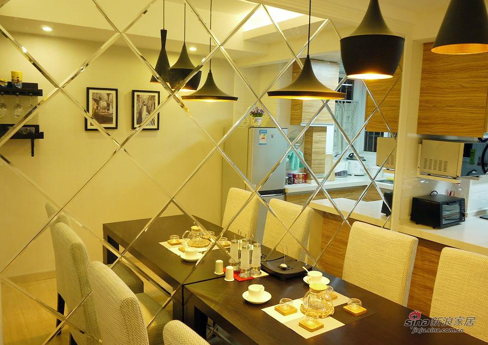 现代 三居 餐厅图片来自佰辰生活装饰在【高清】92平现代时尚温馨主义三口之家38的分享