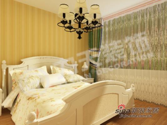 简约 二居 卧室图片来自阳光力天装饰在90平两居带你回归大自然74的分享