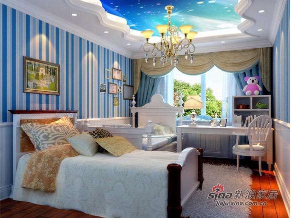 欧式 四居 儿童房图片来自用户2746948411在奢华风打造国风上观设计高贵不失典雅38的分享