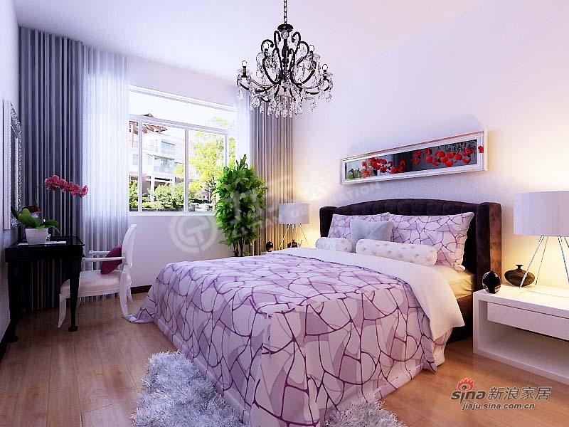 简约 三居 卧室图片来自阳光力天装饰在金筑花园-3室1厅1厨1卫-简约风格83的分享