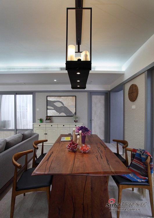 现代 三居 餐厅图片来自佰辰生活装饰在8万打造102平现代休闲主义舒居20的分享