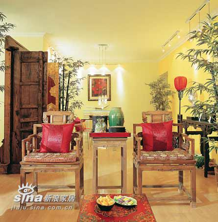 中式 四居 客厅图片来自wulijuan_16在中式家居布置精髓46的分享