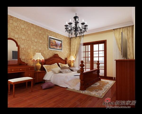欧式 三居 卧室图片来自用户2757317061在经典欧式混搭风情家园65的分享