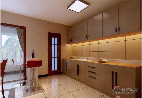 旧房改造后的厨房