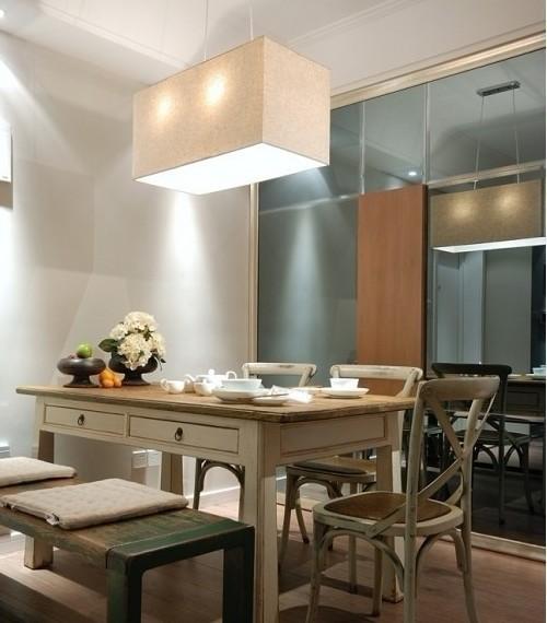 简约 二居 餐厅图片来自用户2738813661在6万装扮混搭风格两居室26的分享
