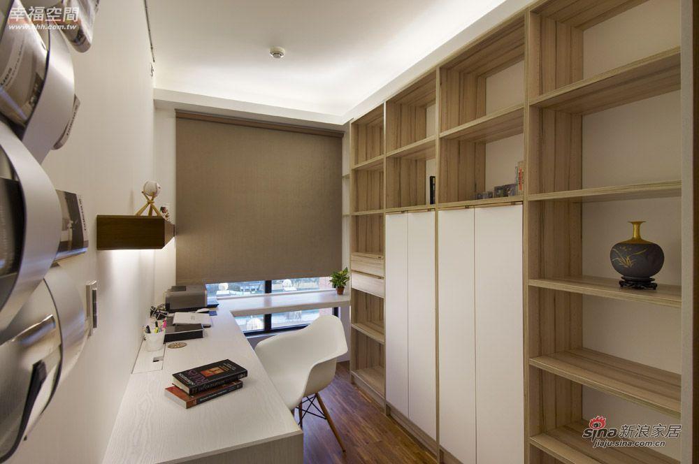 北欧 二居 书房图片来自幸福空间在在北欧简约中混搭德式精工时尚风情41的分享