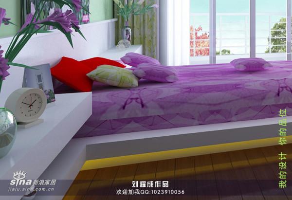 悬浮式的床