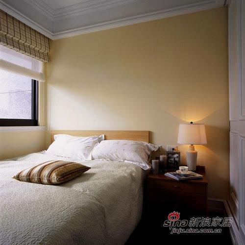 美式 三居 卧室图片来自用户1907686233在10万打造120平米美式爱家70的分享