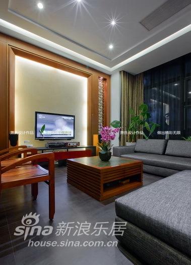 简约 一居 客厅图片来自用户2558728947在新年中国风(萧氏作品)-万科蓝山96的分享