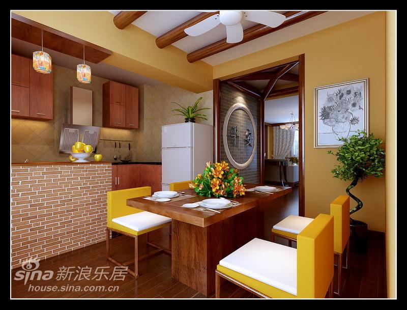 中式 三居 餐厅图片来自用户2740483635在127平完美、细致中式混搭风格22的分享