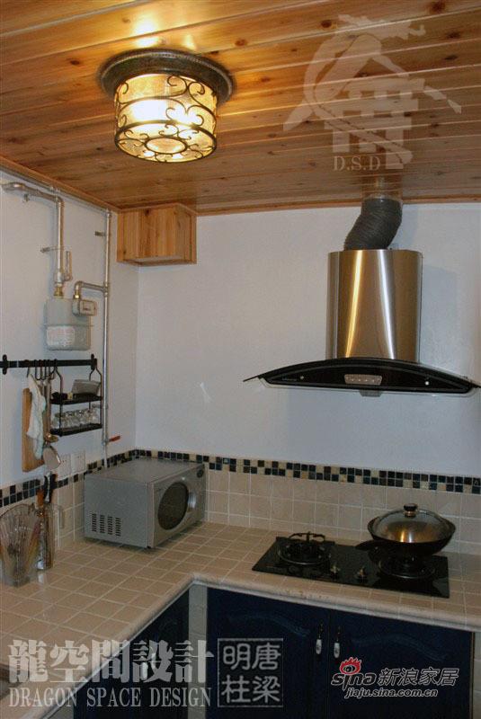 厨房砖砌橱柜