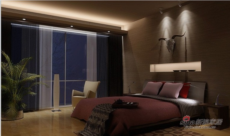 简约 二居 卧室图片来自用户2738093703在精密的智慧空间52的分享