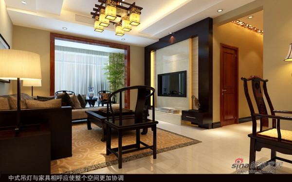 中年夫妇127平新中式三居