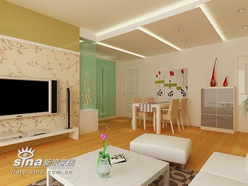 简约 三居 客厅图片来自用户2738829145在太原市百合美地现代三室一厅76的分享