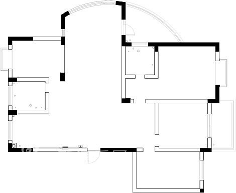 原始房型图