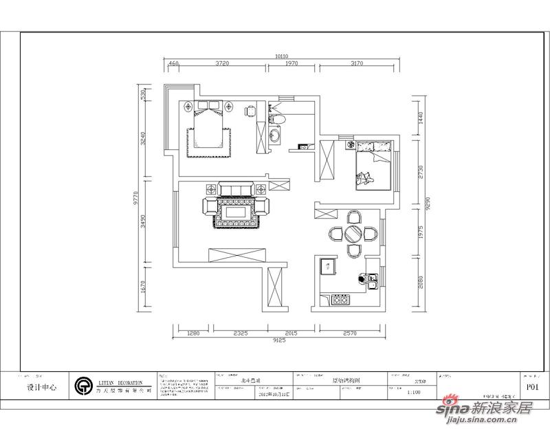 欧式 二居 其他图片来自阳光力天装饰在雅诗兰亭-两室一厅一厨一卫-简欧风格25的分享