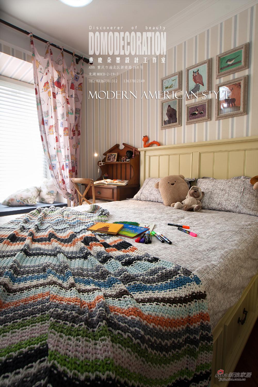 其他 三居 儿童房图片来自朵墨设计在【高清】130平雅致美居休闲下午茶73的分享