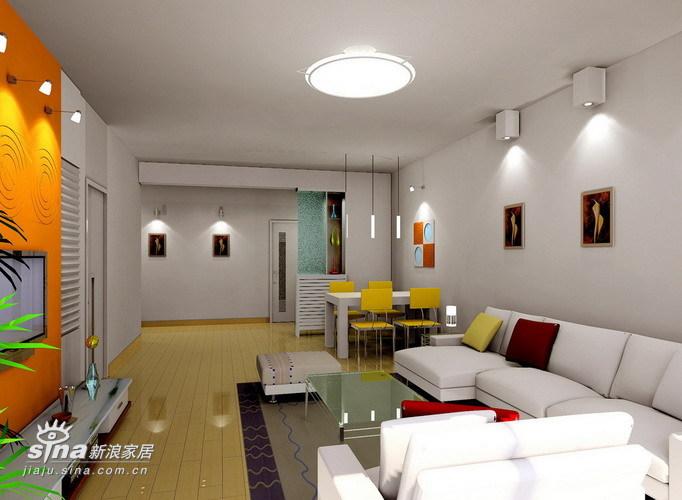简约 三居 客厅图片来自用户2737759857在简单中体现个性23的分享
