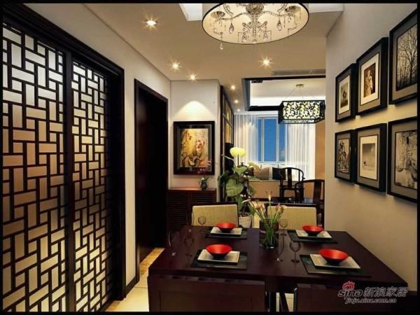 华城佳苑93平新中式之家