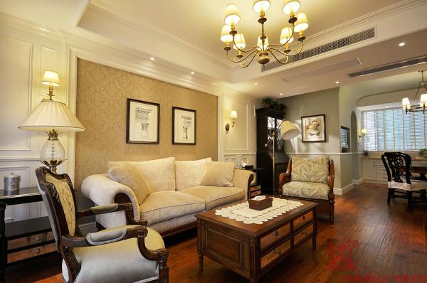 混搭 复式 客厅图片来自上海映象设计-无锡站在【高清】半包21万打造明亮250平清晨36的分享