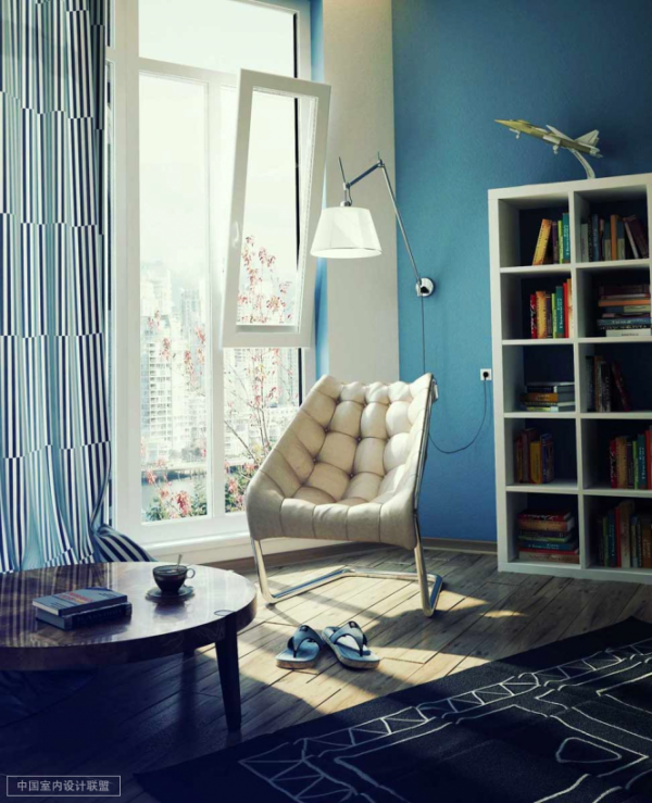 安静而温暖的读书空间
