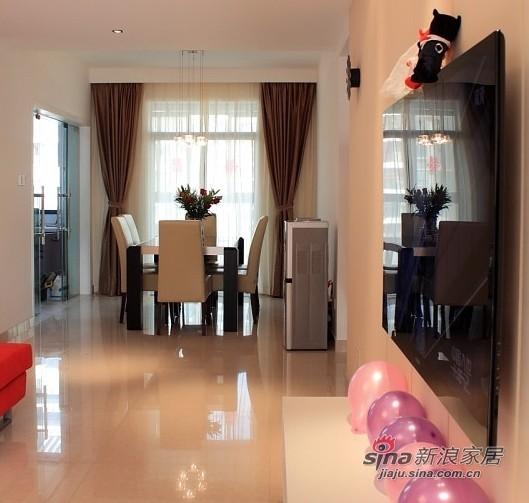 简约 三居 客厅图片来自用户2738845145在140平3室2厅1卫喜庆婚房50的分享