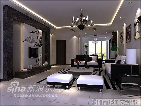 简约 三居 客厅图片来自用户2556216825在广汇PAMA186平米经典黑白灰搭配34的分享