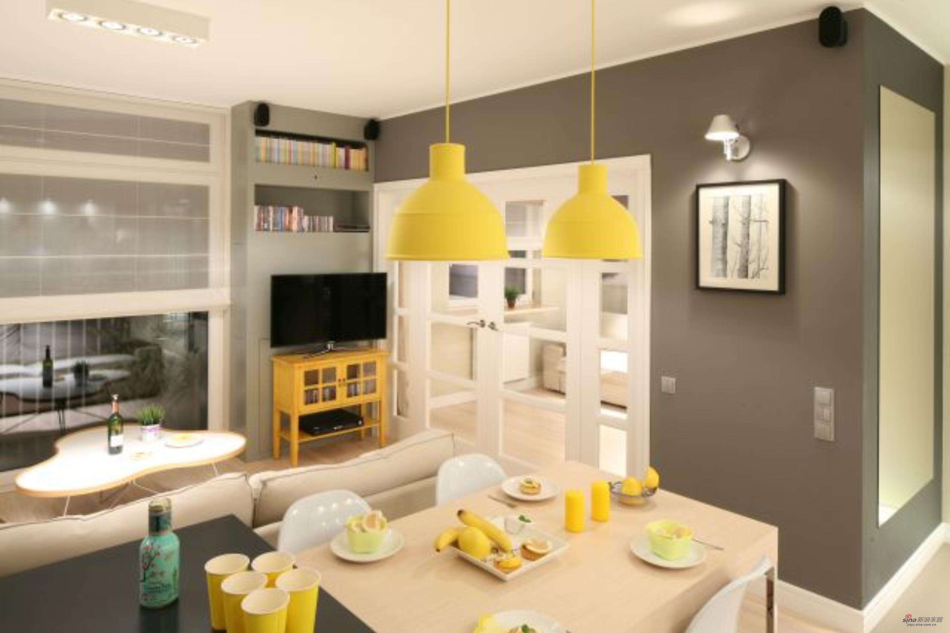 简约 三居 客厅图片来自佰辰生活装饰在【高清】12万营造98平北欧时尚质感之家25的分享