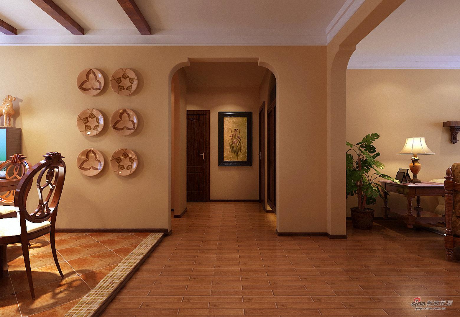 简约 三居 玄关图片来自用户2737759857在金隅花石匠三居简约风格25的分享
