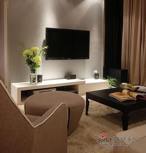 客厅一角 电视墙