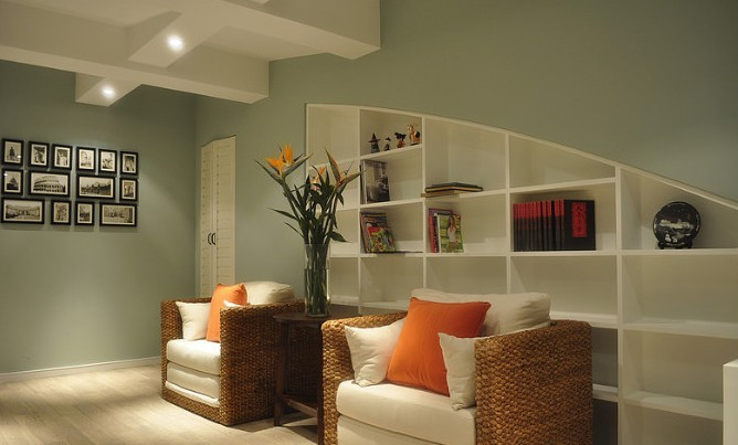 美式 二居 客厅图片来自用户1907685403在7.2万铸造美式田园风格120平loft43的分享