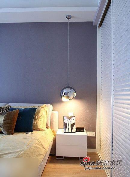 简约 三居 卧室图片来自用户2556216825在实景秀110平时尚简约系乐活家66的分享