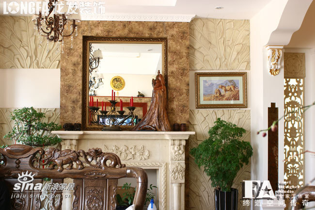 欧式 别墅 客厅图片来自用户2757317061在简欧风格--红勘领世郡63的分享
