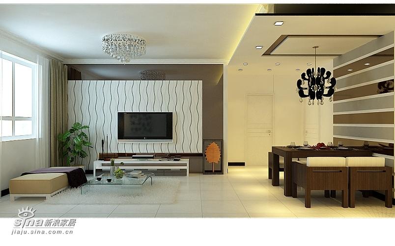 简约 二居 客厅图片来自用户2737786973在旗胜家园设计案例61的分享