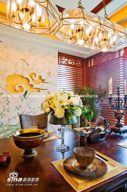 其他 别墅 餐厅图片来自用户2737948467在真正的豪宅江南华府(中)23的分享