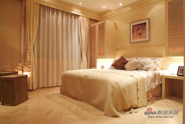 简约 四居 卧室图片来自用户2737950087在4万营造140平潮流时尚居 68的分享
