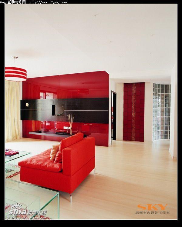 简约 复式 客厅图片来自用户2745807237在时尚风向标—红黑白演绎89的分享