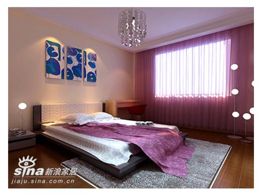 简约 别墅 卧室图片来自用户2738813661在14万装修300平米别墅53的分享