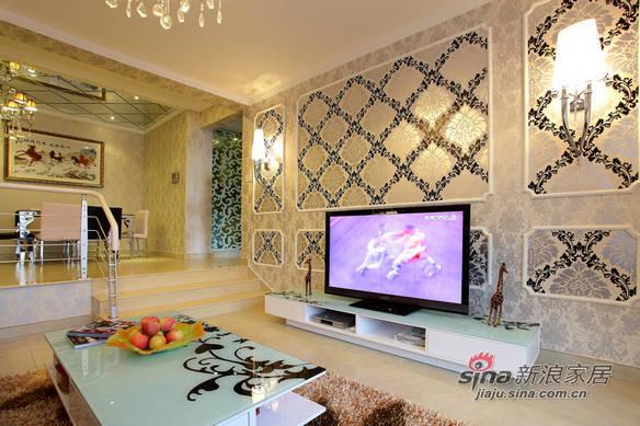 简约 二居 客厅图片来自用户2738813661在和谐混搭现代简约风87的分享