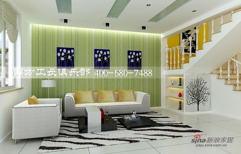简约 一居 客厅图片来自用户2745807237在南方工长俱乐部16的分享