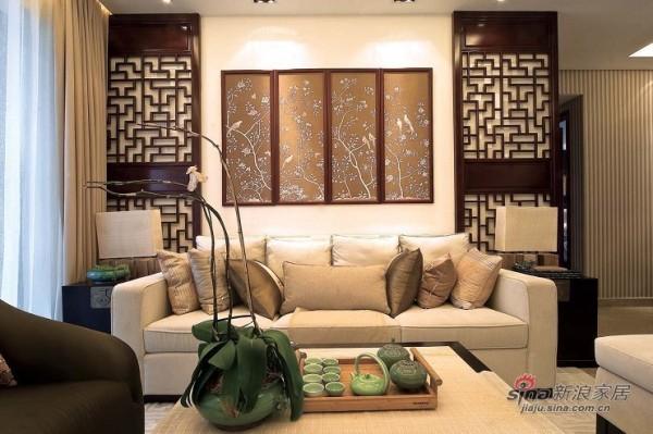 中式风格实景大图元洲装饰
