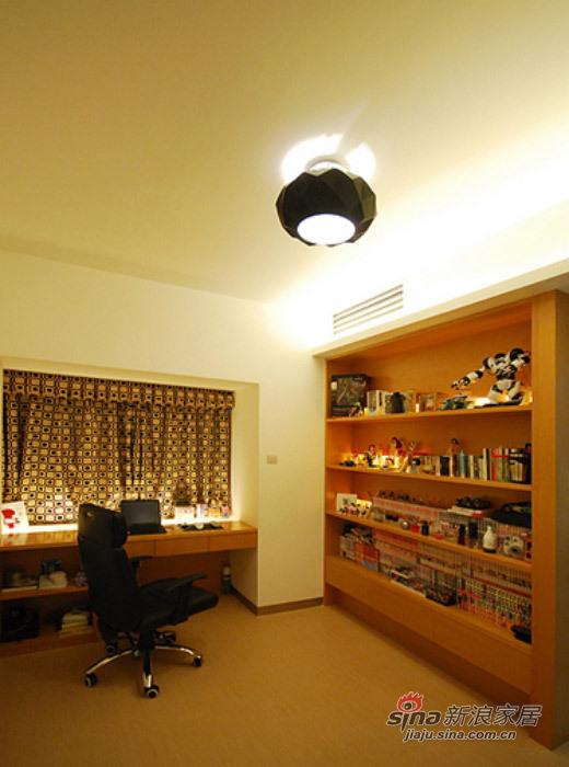 现代 三居 书房图片来自佰辰生活装饰在白领光影打造82平现代简约家71的分享