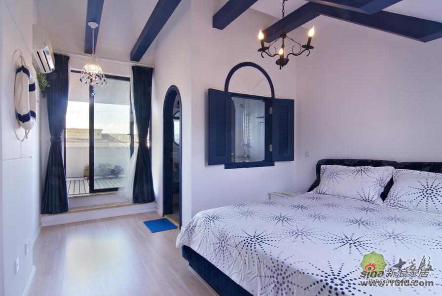 地中海 别墅 卧室图片来自用户2757320995在地中海风格清新自然小别墅37的分享