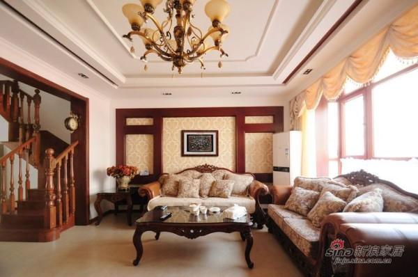 客厅--美式新古典