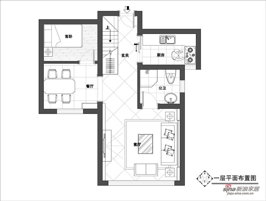 港式 三居 户型图图片来自用户1907650565在稳重的港式公寓32的分享