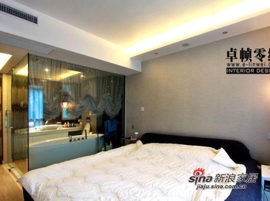 简约 三居 卧室图片来自用户2557010253在咖啡主调105平浪漫简约3居70的分享