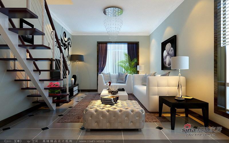 简约 二居 客厅图片来自用户2738829145在小资夫妻时尚80平loft简约婚房62的分享