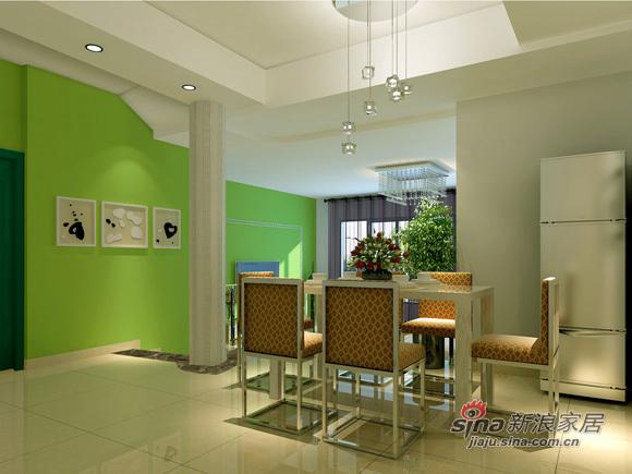 简约 三居 餐厅图片来自用户2737759857在7万打造三居健康温馨之家12的分享