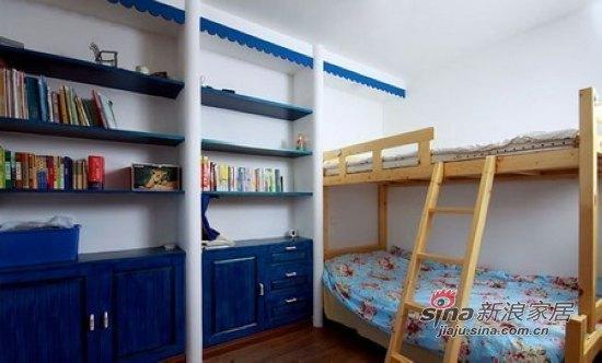 地中海 二居 儿童房图片来自用户2757320995在4.8万元房奴超省钱装75平2室1厅24的分享