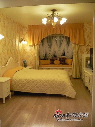 田园 三居 卧室图片来自用户2737791853在8万打造110㎡英伦田园范儿三居91的分享